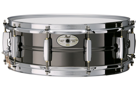 pearl sensitone_elite_brass_snare_14x6-5