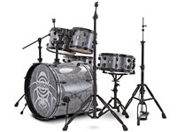 dixon black widow drums, барабанная установка dixon black widow