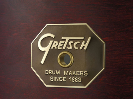 gretsch usa standard badge, эмблема gretsch usa standard