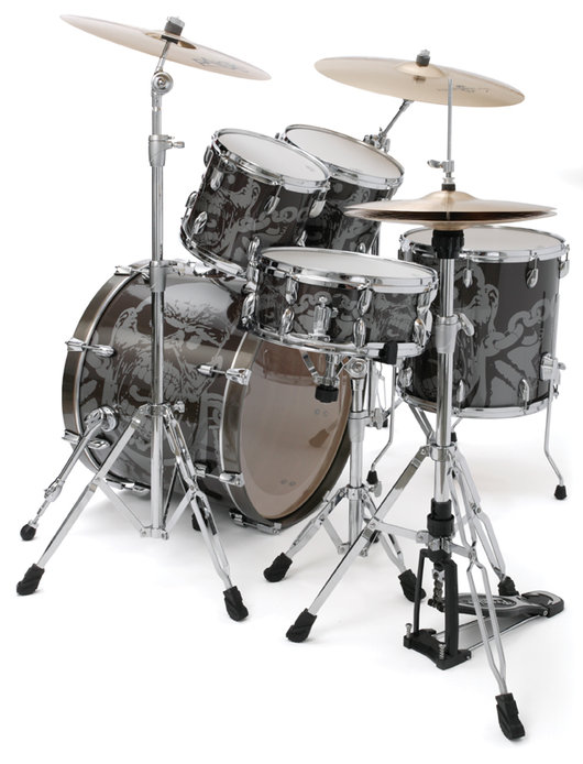 premier spirit of maiden drum kit, барабанная установка Premier Spirit of Maiden