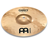 meinl classics custom extreme metal splash, тарелка meinl classics custom extreme metal splash