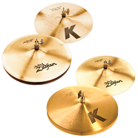 zildjian 3 hat pack, набор тарелок Zildjian 3 hat Pack