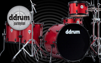 ddrum journeyman drum kit, барабаны Ddrum Journeyman