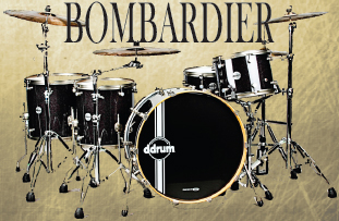 ddrum reflex bombardier drum kit, барабаны ddrum reflex bombardier