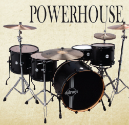 ddrum reflex powerhouse drum kit, барабаны ddrum reflex powerhouse