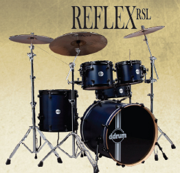 ddrum reflex rsl drum kit, барабаны ddrum reflex rsl