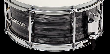 dynamicx drums backbeat charcoal strata snare drum, малый барабан Dynamicx Drums Backbeat Charcoal Strata