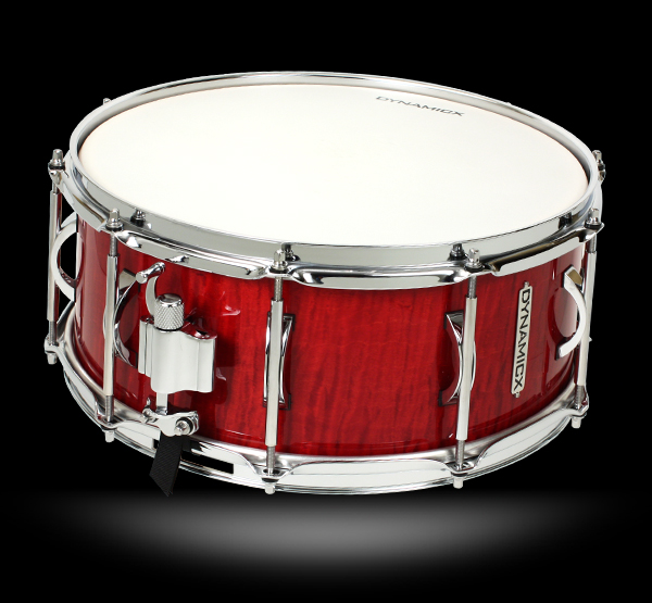dynamicx exotic veneer snare drum, малый барабан dynamicx exotic veneer