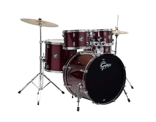 gretsch renegade drum kit wine red, барабаны gretsch renegade drum kit wine red