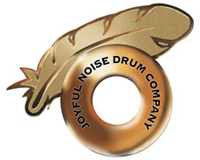 joyful noise drum company logo, барабаны joyful noise drum company
