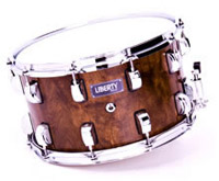 liberty drums wenge snare drum,Малый барабан Liberty Drums Wenge Snare Drum