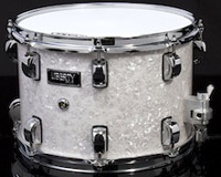 liberty drums white marine pearl snare drum, Малый барабан Liberty Drums White Marine Pearl