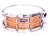 liberty drums zebrano snare drum, liberty drums zebrano snare drum, Малый барабан Liberty Drums Zebrano Snare Drum