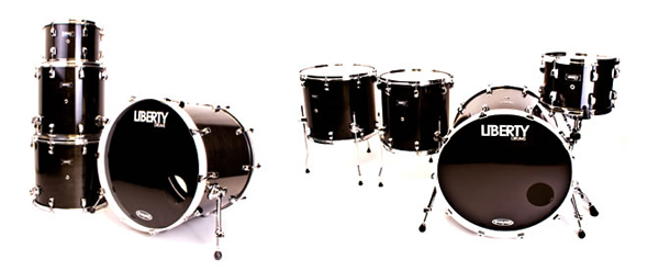 liberty drums custom maple drum kit, барабанная установка Liberty Drums Custom Maple