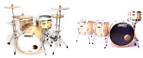liberty drums maple pro drum kit, барабанная установка Liberty Drums Maple Pro