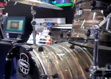 mapex drums at namm 2012, барабаны Mapex на выставке NAMM 2012