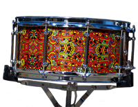 custom drum graphics snare drum, покрытия для барабанов Custom Drum Graphics