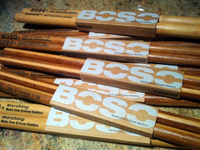 boso drumsticks made from bamboo, барабанные палочки Boso Drumsticks из бамбука