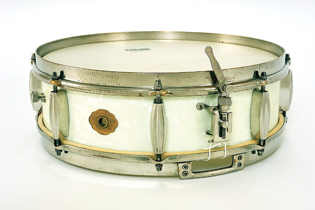 sanre drum slingerland radio king 1930s-40s, малый барабан