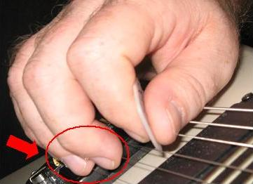 guitar finger mute