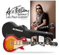 gibson custom ace frehley budokan les paul, гитара gibson custom ace frehley budokan les paul